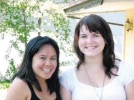 Kristen Mun(left) and Karen Kuran