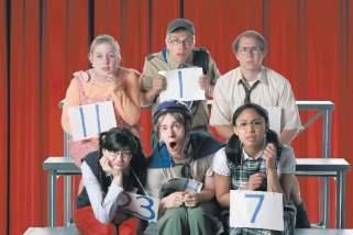 From left, top row: Rebecca Denley, Tim Homsley, Chris Carwithen. bottom row: Rachel Seeley, James David Larson, Beatriz Abella