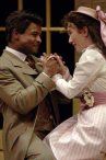 Kevin Kenerly and Julie Oda in 'Earnest.'